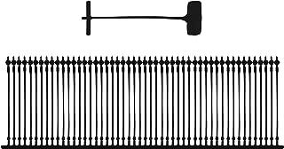 Amram 1 Inch Standard Tagging Attachments 5000 Pieces 50 Per Clip Black