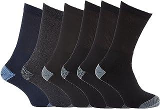 6 Pairs of Mens 'Erbro Workwear®' Heavy Duty Ultimate Work Boot Socks/UK 6-11 Eur 39-45