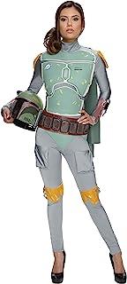 Rubie`s Women`s Star Wars Boba Fett Deluxe Costume Jumpsuit