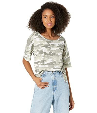 Chaser Gauze Jersey Short Sleeve High-Low Tee