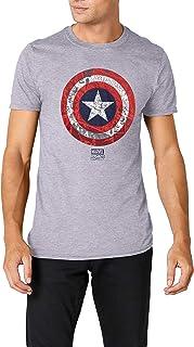 Marvel Ca Comic Shield Camiseta para Hombre