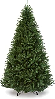 Best Choice Products 7.5ft Hinged Douglas Full Fir Artificial Christmas Tree Holiday Decoration w/Foldable Metal Stand