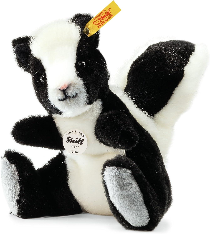 Steiff Sniffy Skunk (Black  White)