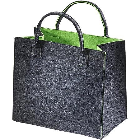 Kobolo Filztasche Shopper Einkaufstasche Filz Freizeittasche Shopper Bag