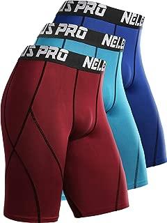 Men's Compression Shorts Pack of 3