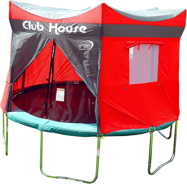 Propel Trampolines Trampoline Club House, Multicolor, 15'
