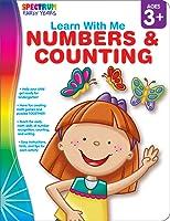 Spectrum | Numbers & Counting Workbook | Ages 3+, Printable
