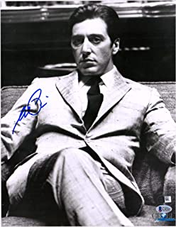 Al Pacino The Godfather Autographed 11