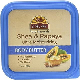 Okay Shea & Papaya Ultra Moisturizing Body Butter