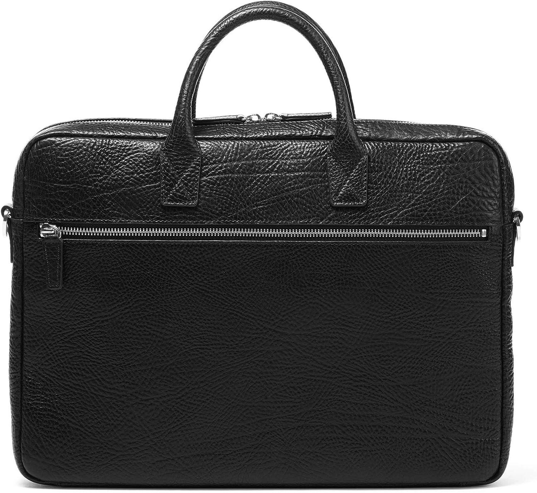 Leatherology Cognac Knox Slim Laptop Bag