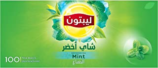 Lipton Green Tea Bags Mint, 100s