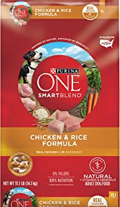 Purina ONE SmartBlend Natural Adult Chicken & Rice Dry Dog Food