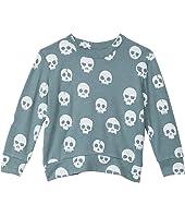 Love Knit Long Sleeve Crew Neck Pullover (Toddler/Little Kids)