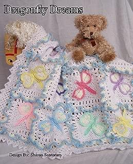 dragonfly crochet baby blanket