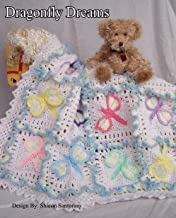 crochet dragonfly baby blanket pattern