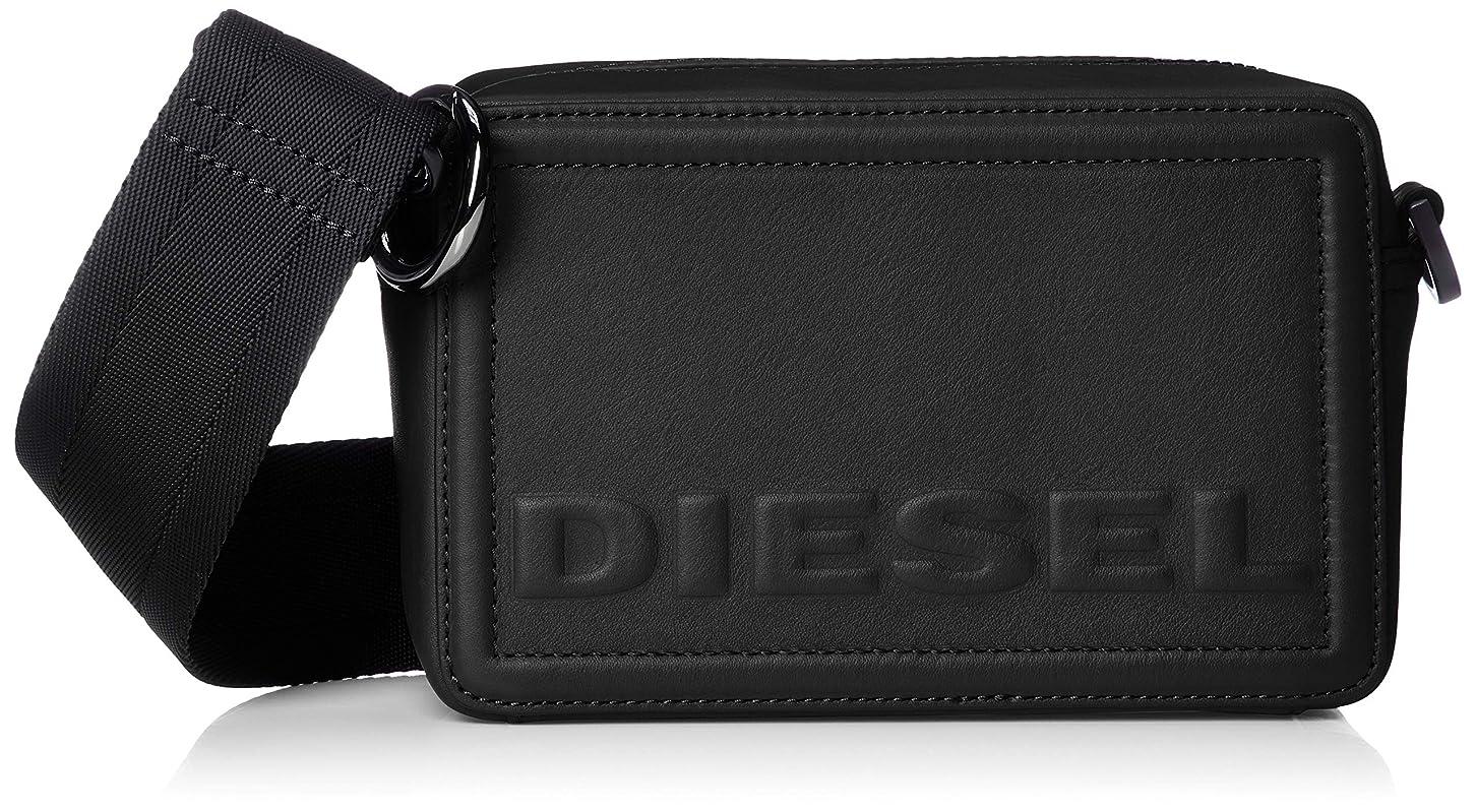 愚かな安らぎ不均一(ディーゼル) DIESEL レディース カウレザー ミニクロスボディバッグ X06258PR030