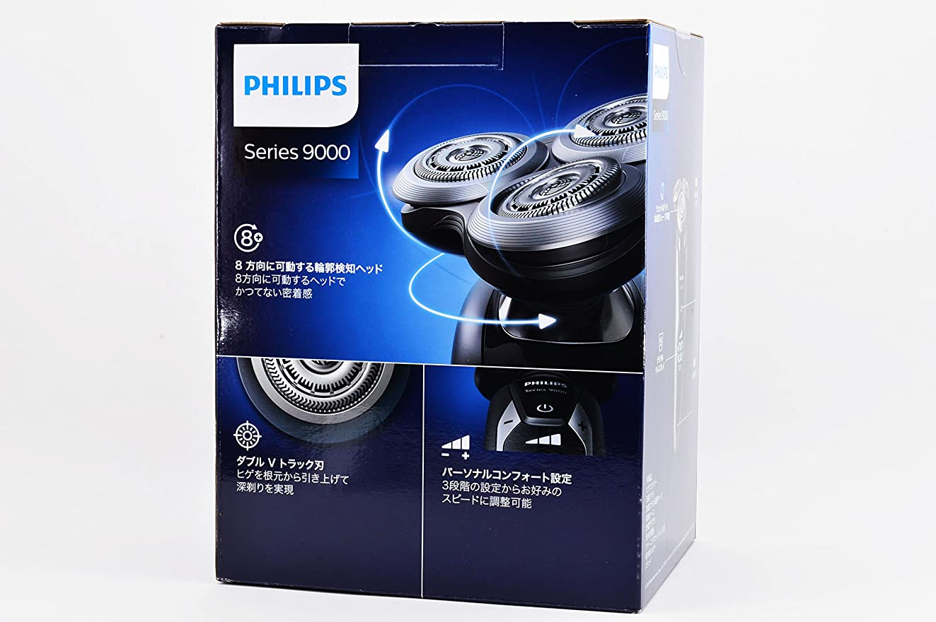 割るステレオ書誌フィリップス 電気シェーバー (ブラック/シルバー)PHILIPS 9000シリーズ ウェット&ドライ S9732/33