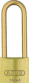 ABUS 55MBHB/40 B KA 55 All Weather Solid Brass Keyed Alike Padlock, 1.5-Inch