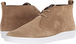 Fred Perry Men's B721 X George Cox Chukka Suede Almond 6.5 D UK D (M), Almond, Size 40 EU