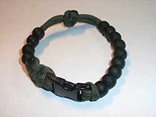 Redvex Ranger Pace Counter Bead Bracelet by OD Green - Choose your size - Customization Available