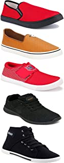 Shoefly Sports Running Shoes/Casual/Sneakers/Loafers Shoes for Men&Boys (Combo-(5)-1219-1221-1140-303-772)