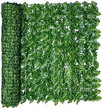 Artificial Leaf Screening Roll Kunstmatige Balkon Hek UV Fade Beschermd Privacy Hedging Wall Garden Buildings Fence (Color...
