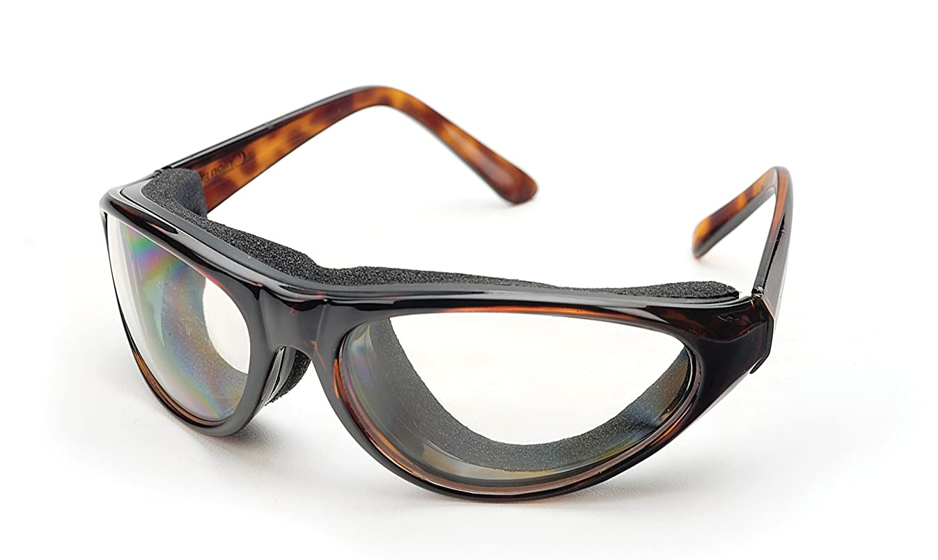 RSVP Tearless Kitchen Onion Goggles, Tortoise Shell