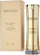 OROGOLD 24K Intensive Eye Serum for Wrinkles, Dark Circles and Puffiness - Anti Aging Serum For Youthful Looking Skin - Under Eye Skin Softening Serum - 50 ml. / 1.76 fl. Oz.