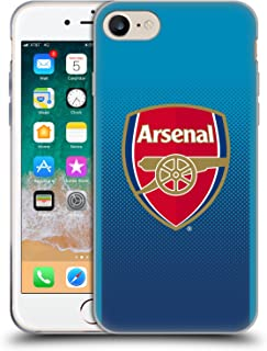 Official Arsenal FC Away 2017/18 Crest Kit Soft Gel Case Compatible for iPhone 7 / iPhone 8