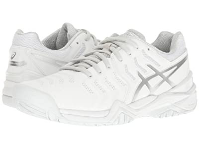 ASICS Gel-Resolution 7 (White/Silver) Women