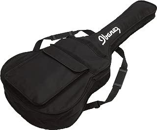 Ibanez IAB101 5mm Padded Acoustic Guitar Bag with Ibanez Logo - Black