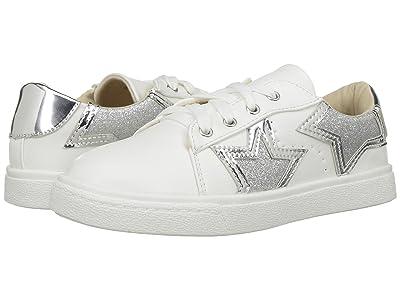 Yosi Samra Kids Miss Harper (Toddler/Little Kid/Big Kid) (Silver Metallic) Girls Shoes