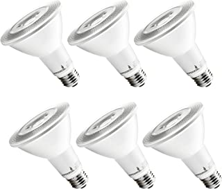 Hyperikon LED PAR30 Bulb, Long Neck 75 Watt Replacement (12W), Dimmable Spot Light, E26 Base, 2700k Warm, UL, Energy Star, 6 Pack
