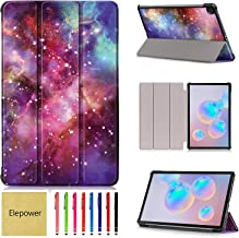 SM-P610 Case, Galaxy Tab S6 Lite 10.4 Case, Elepower Ultra Slim PU Leather Tri-Fold Shell Case with Auto Wake/Sleep Cover ...