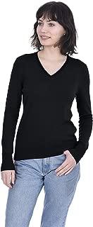 Best black v neck cashmere jumper Reviews