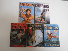 The Lost Years of Merlin, Set of 5: The Lost Years of Merlin, The Seven Songs of Merlin, The Fires of Merlin, The Mirror o...
