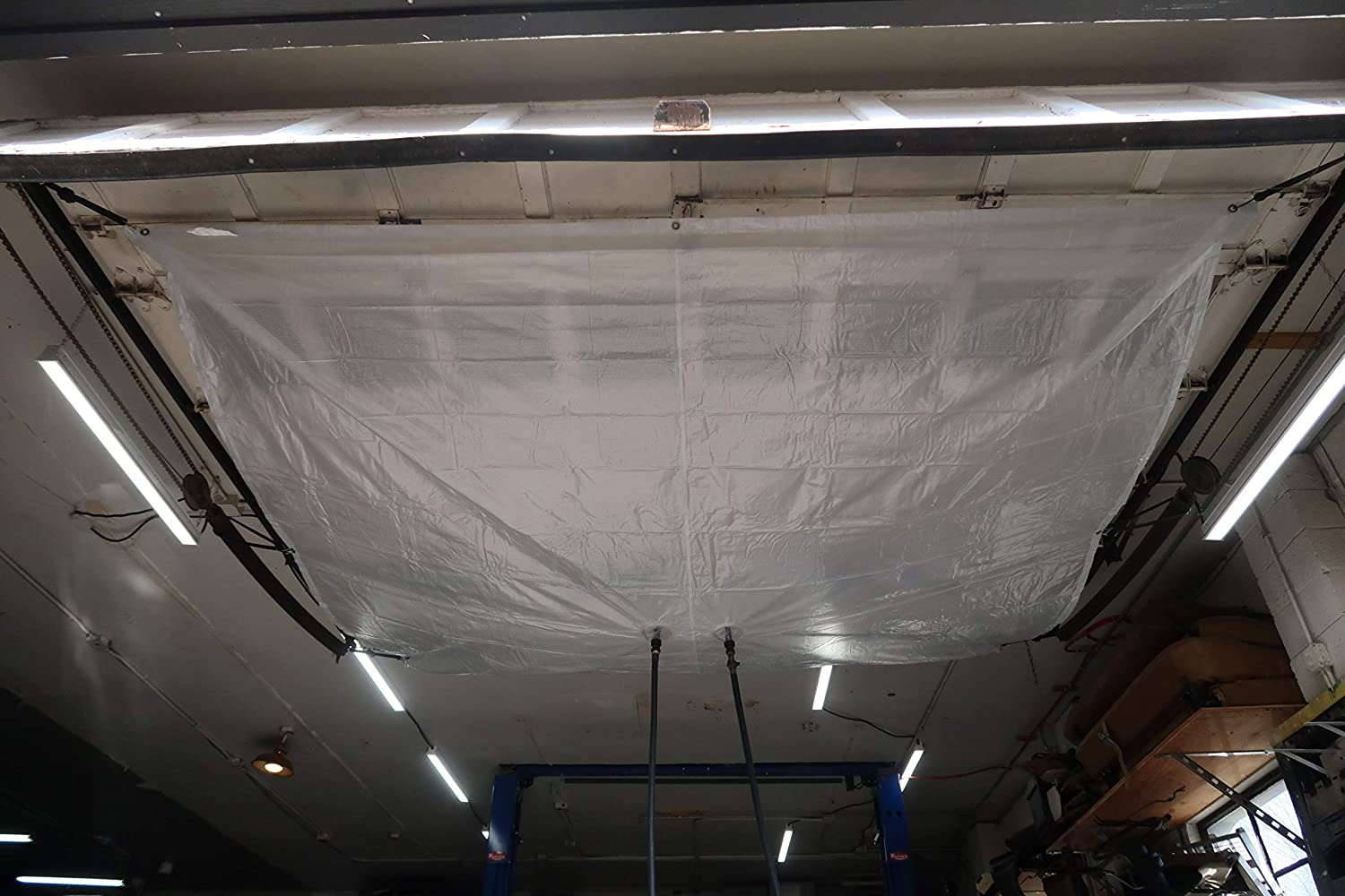 Portland Mall Roof leak diverter 10' x Divert Tulsa Mall by GoGrailey and Captures