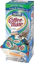 Coffee-mate Coffee Creamer, Sugar Free French Vanilla Liquid Singles, 0.375-Ounce Creamers, 200-Count