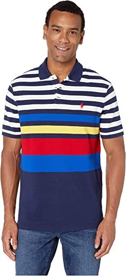 Short Sleeve Classic Fit Mesh Polo