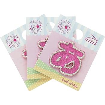 ミノダ ひらがな あ ピンク (3枚セット) AM0113