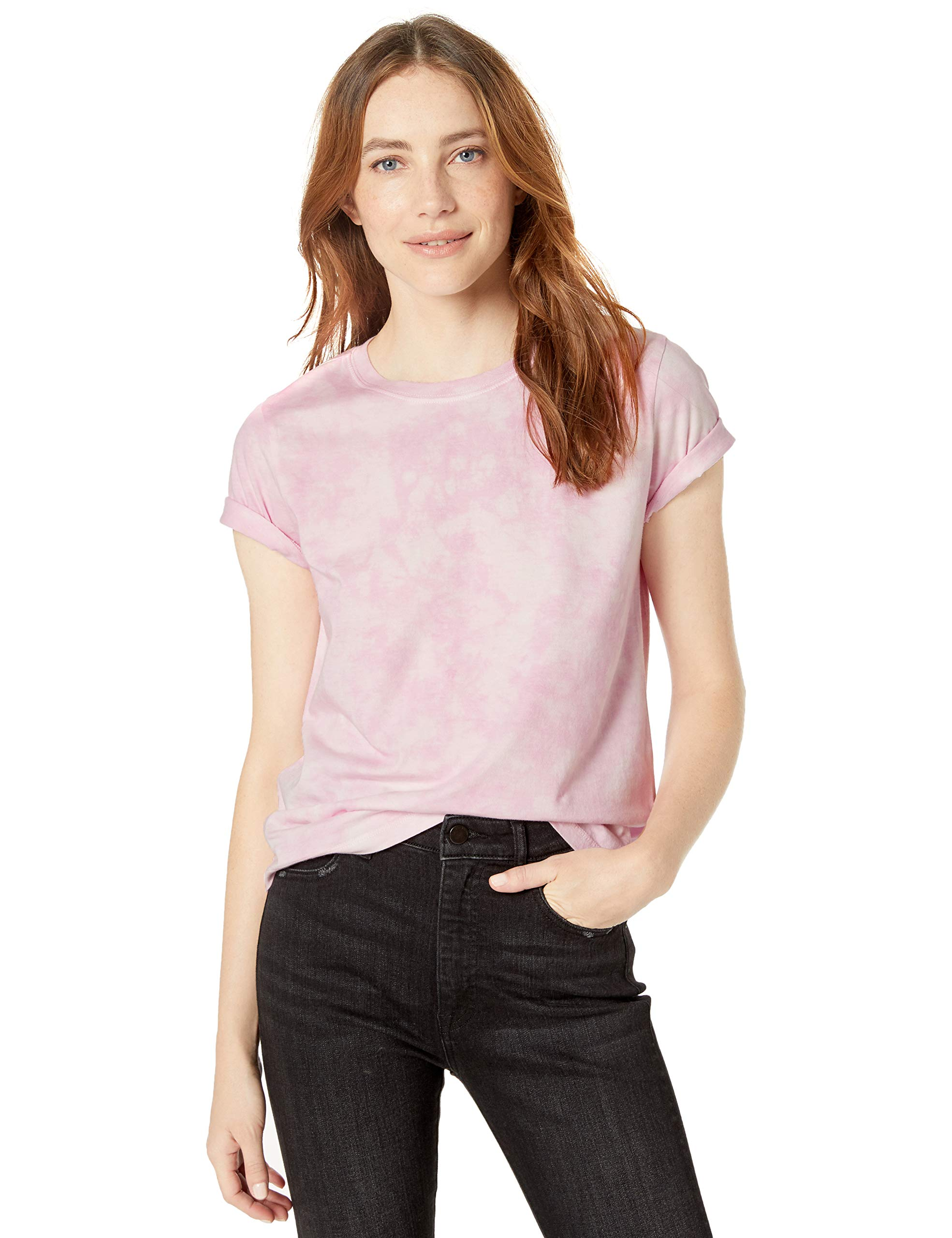 The Drop Women's Courtney Short Sleeve Tiny Crew Neck Jersey T-Shirt