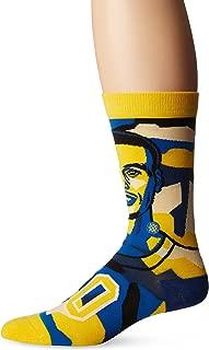 Men's Mosaic Curry Crew Sock