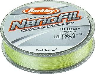 Berkley NanoFil Unifilament Line 150 Yards