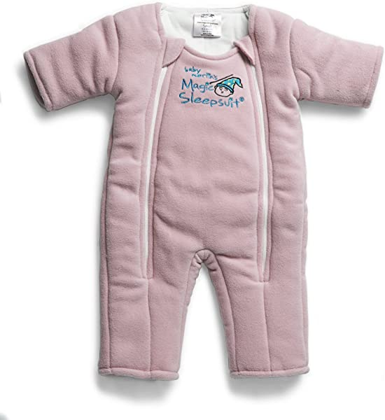 Baby Merlin S Magic Sleepsuit Swaddle Transition Product Microfleece Pink 3 6 Months