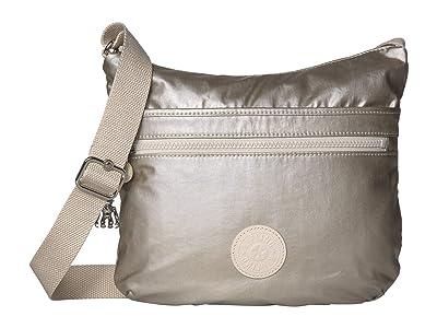 Kipling Arto Crossbody Bag (Cloud Metal) Handbags