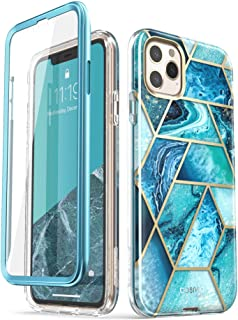 i-Blason Cosmo Series Case for iPhone 11 Pro 5.8 inch, Slim Full-Body Stylish Protective Case with Built-in Screen Protector (Ocean)