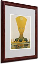 Egyptian State Railway Artwork by Vintage Apple Collection, Wood Frame, 16 by 20-Inch