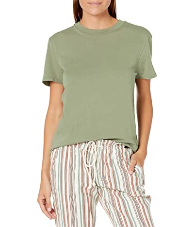 Volcom One Of Each BF Tee (Green Teal) Women