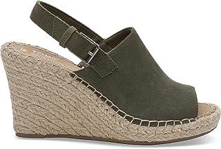 c6161cc0173 Amazon.com  TOMS - Platforms   Wedges   Sandals  Clothing