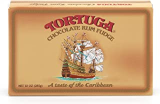 TORTUGA Chocolate Rum Fudge - The Perfect Premium Gourmet Gift